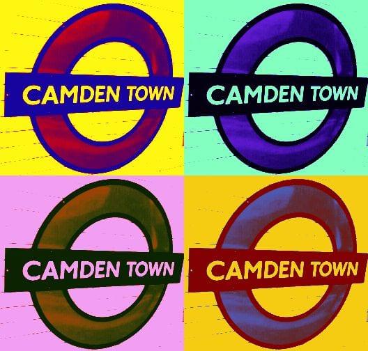 Camden underground station
