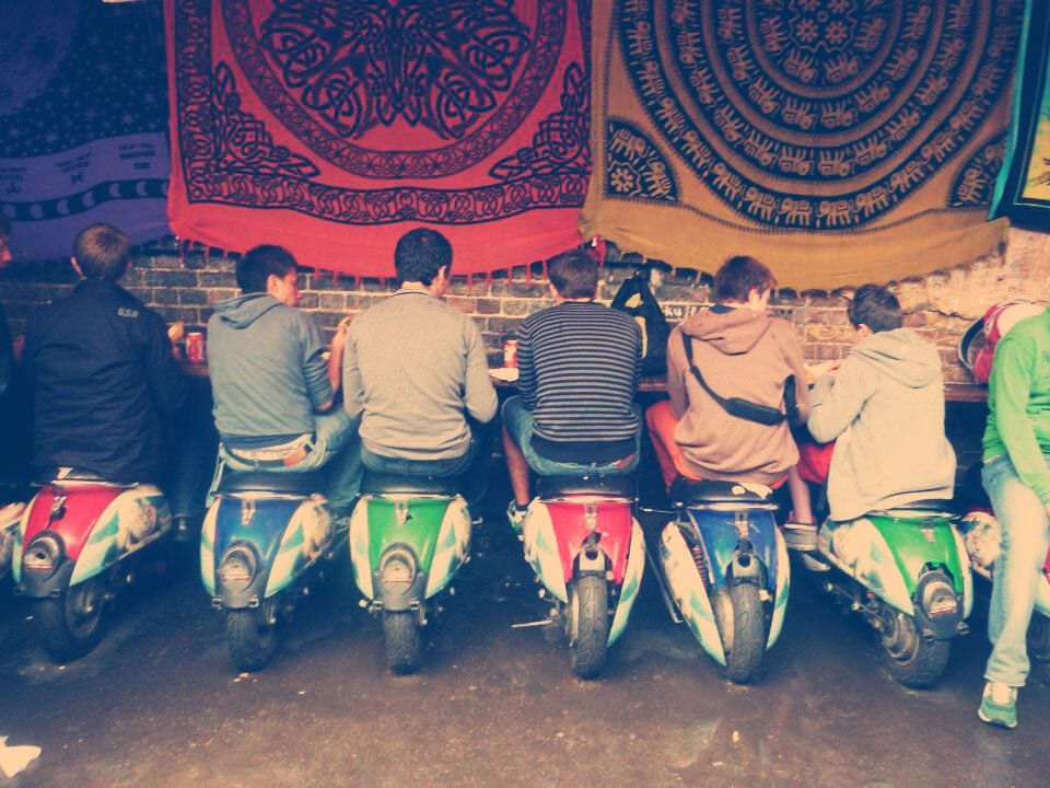 camden scooter restaurant