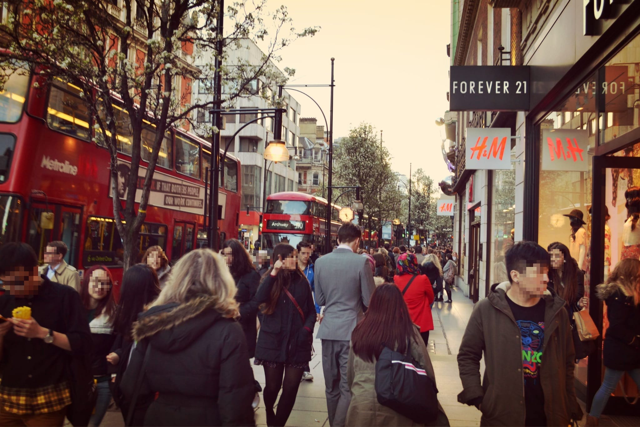 Shopping Studenten London