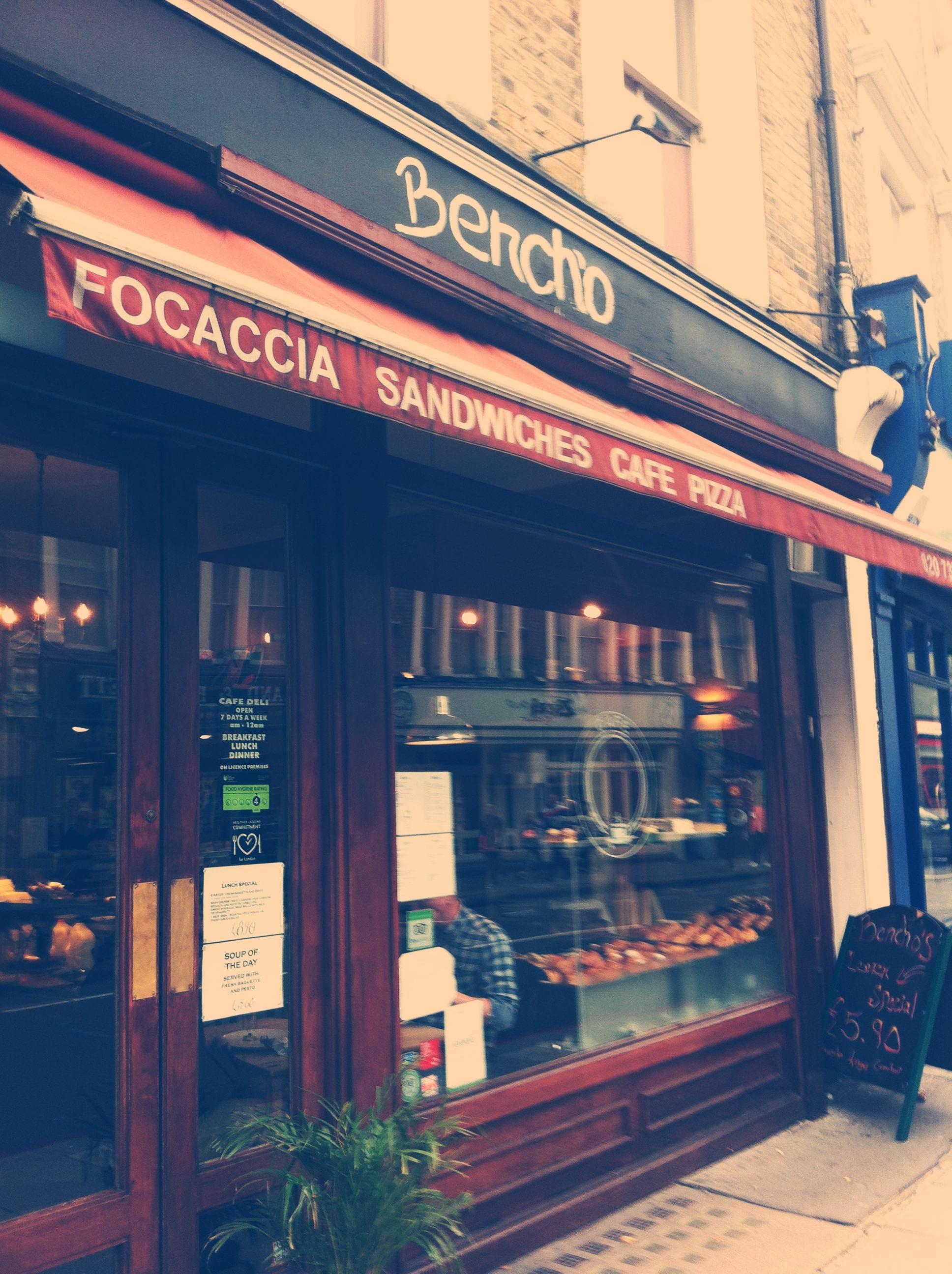 breakfast london bencho