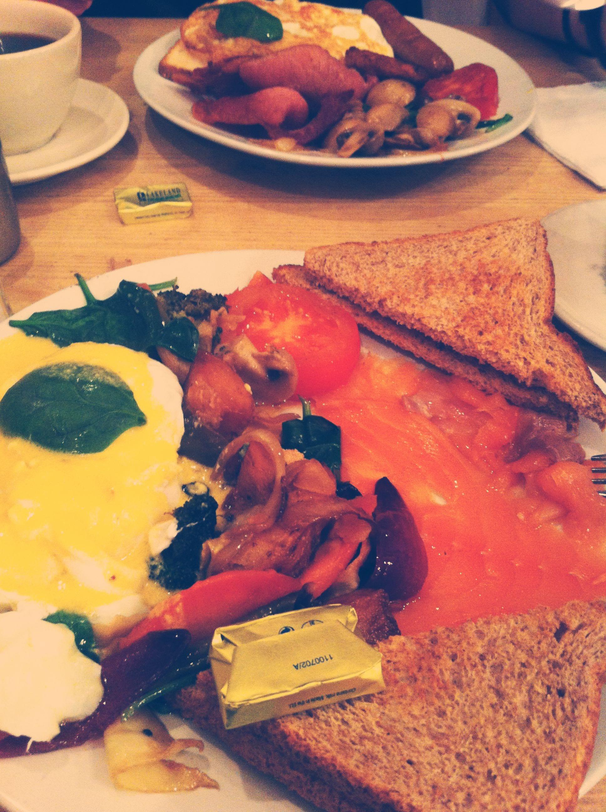 frühstück london bencho