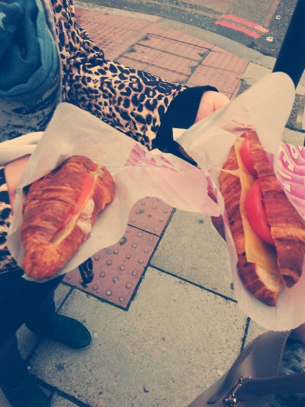 frühstücken in London fast food
