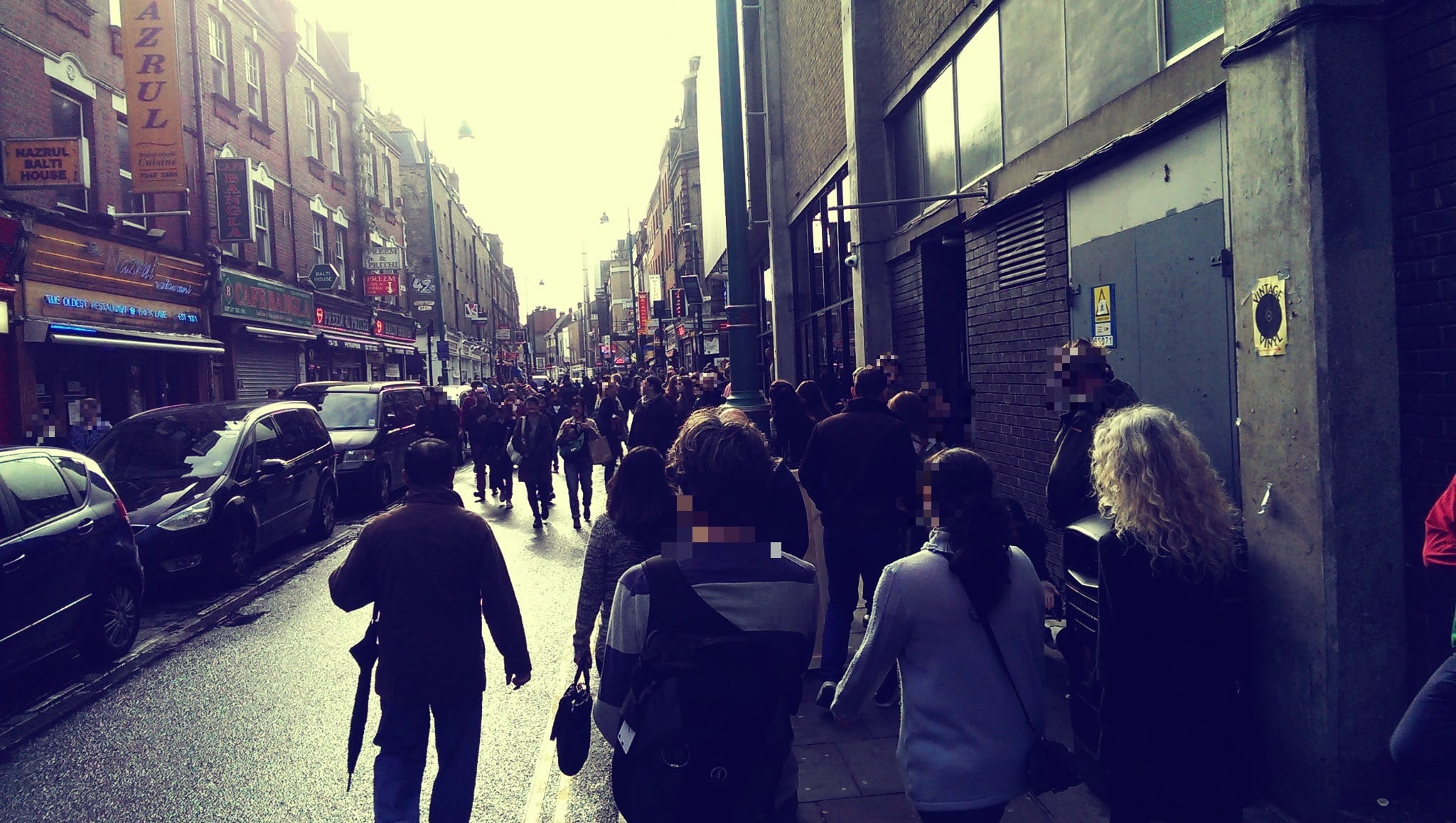 Brick Lane Street area