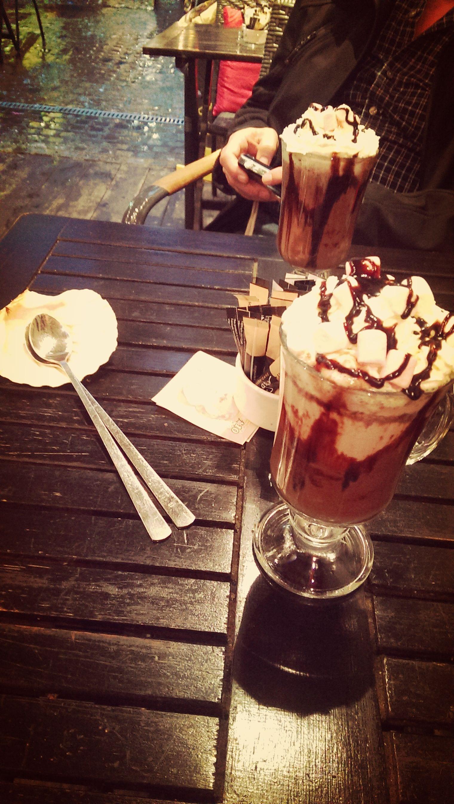 heiße Schokolade London