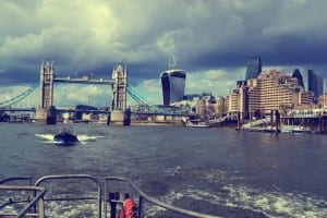 Bootsfahrt London Themse