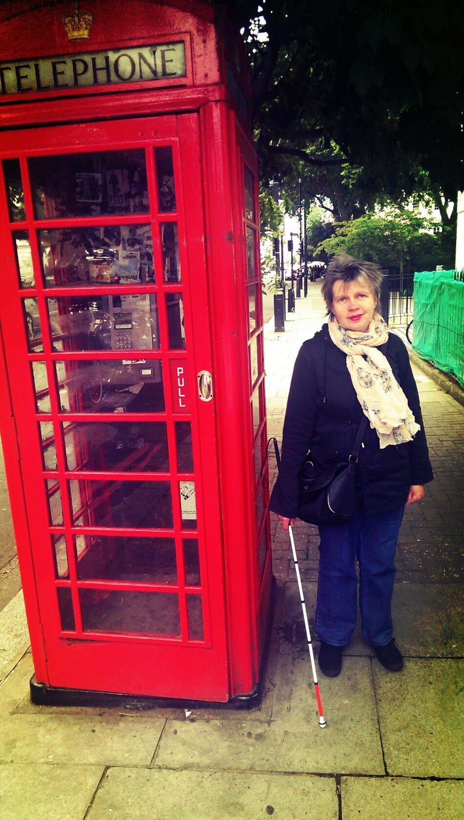 Blinde in London