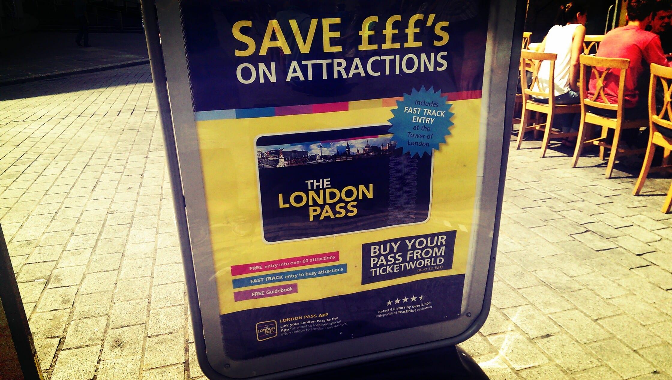 Der London Pass alle Vorteile
