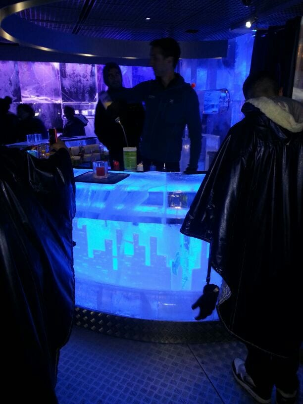 Icebar London Coata