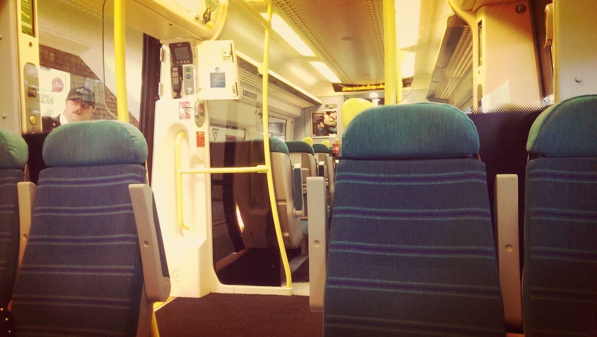 Die National Rail fährt von Gatwick nach London Bridge und Victoria