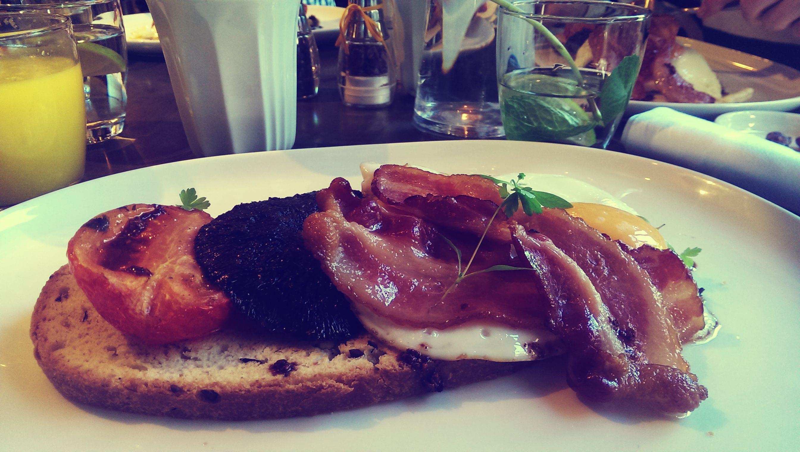 Das Frühstück im Rabot 1745 ist nicht besonders umfangreich, dafür aber sehr lecker.