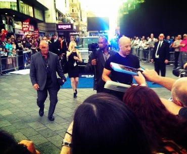 Vin Diesel Kino Premiere London