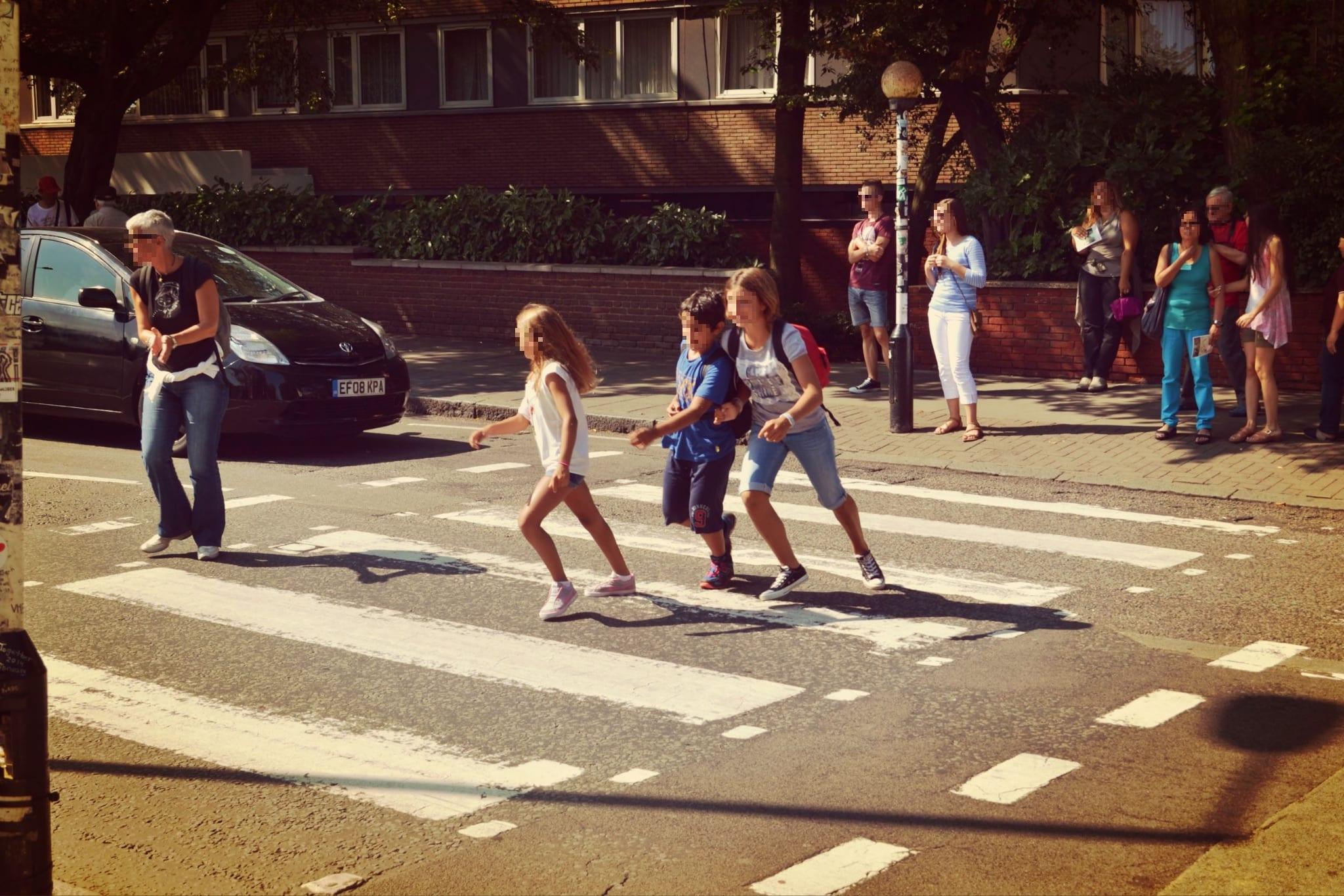 Das Abbey-Road-Crossing ist beliebt bei jung und alt