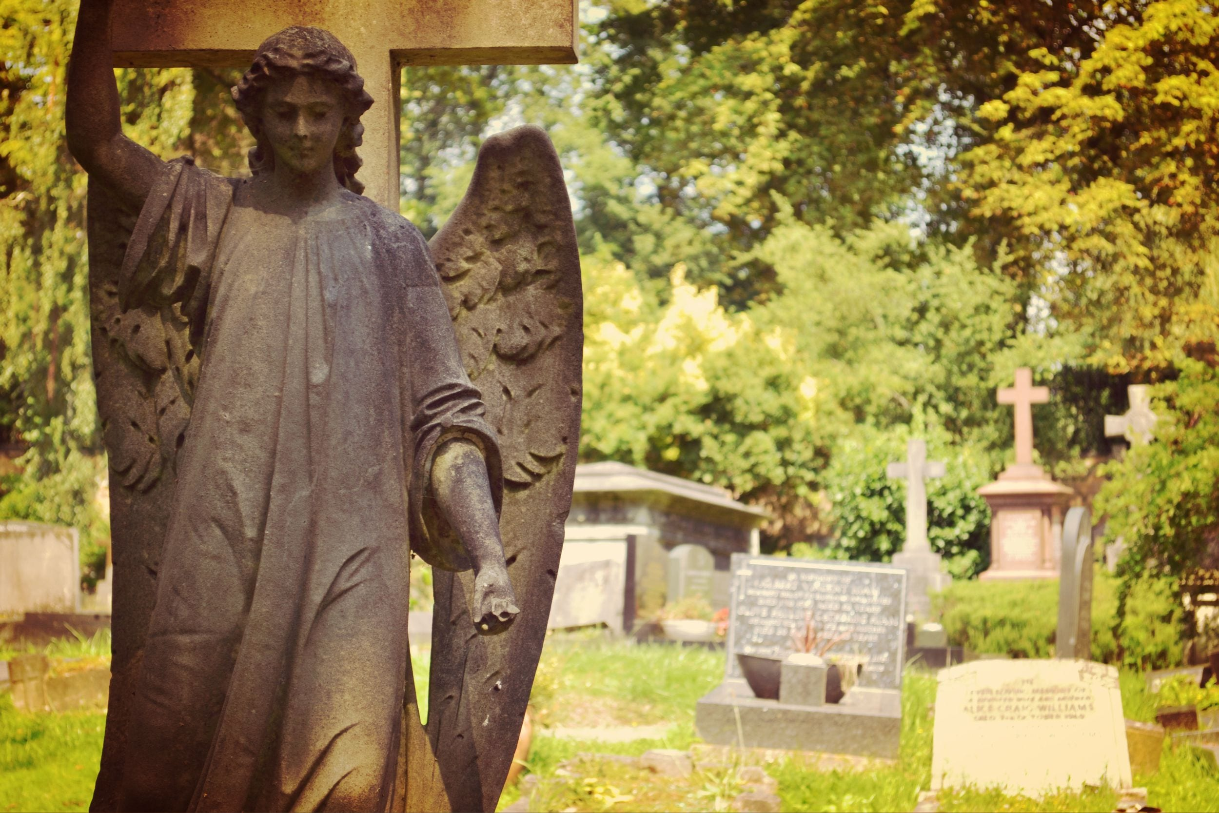 Cemetery Highgate Angel