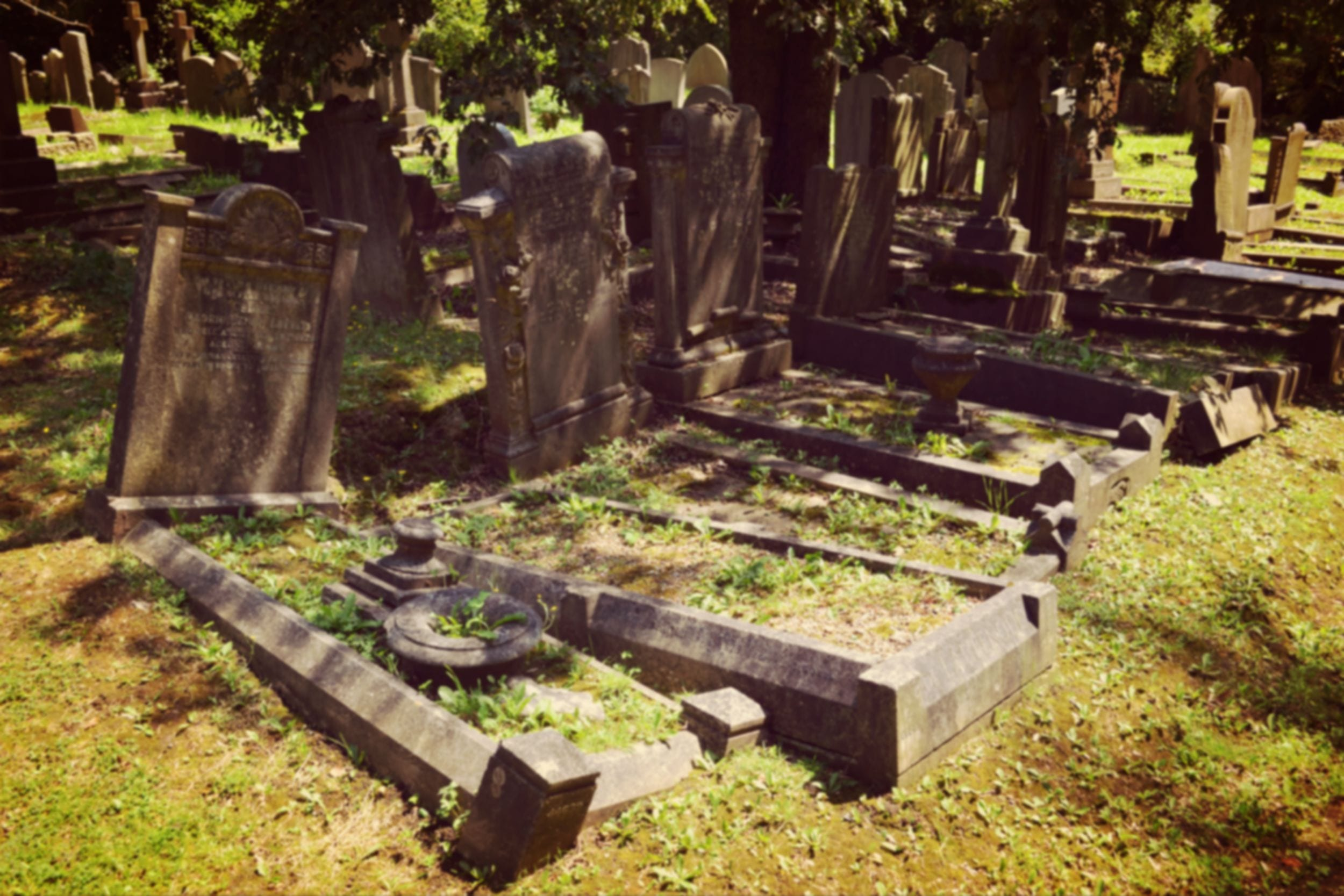 Highgate Cemetery Graves