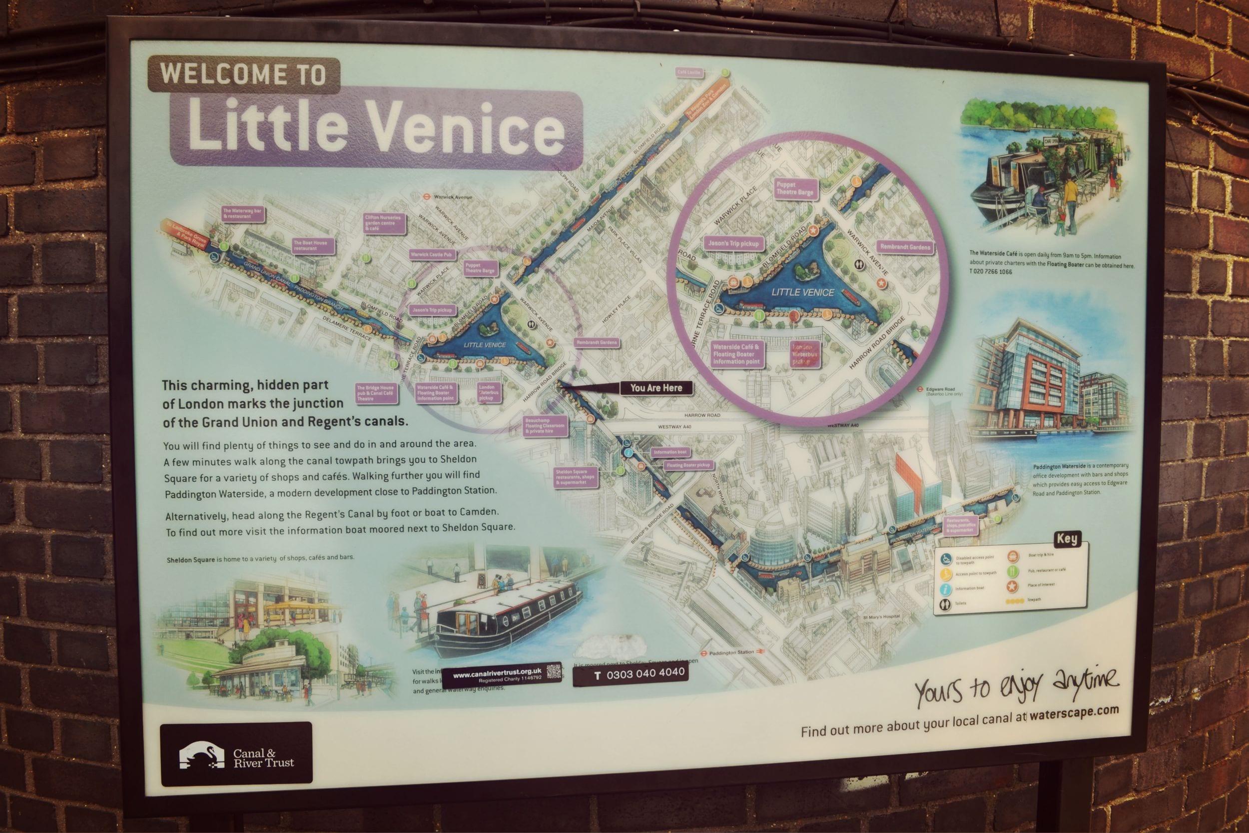 Little Venice Karte