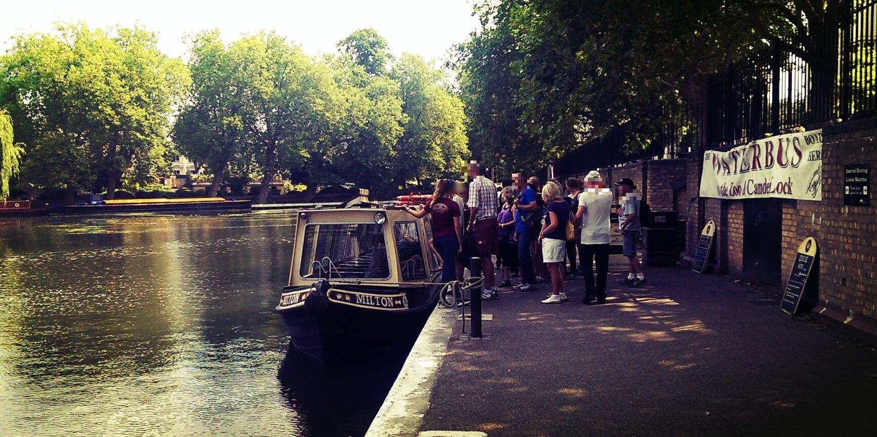Little Venice Wasserbus
