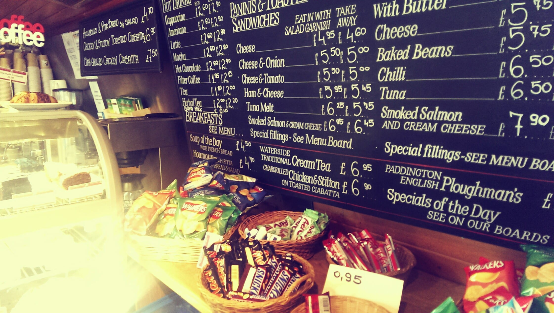 Waterside London Snacks