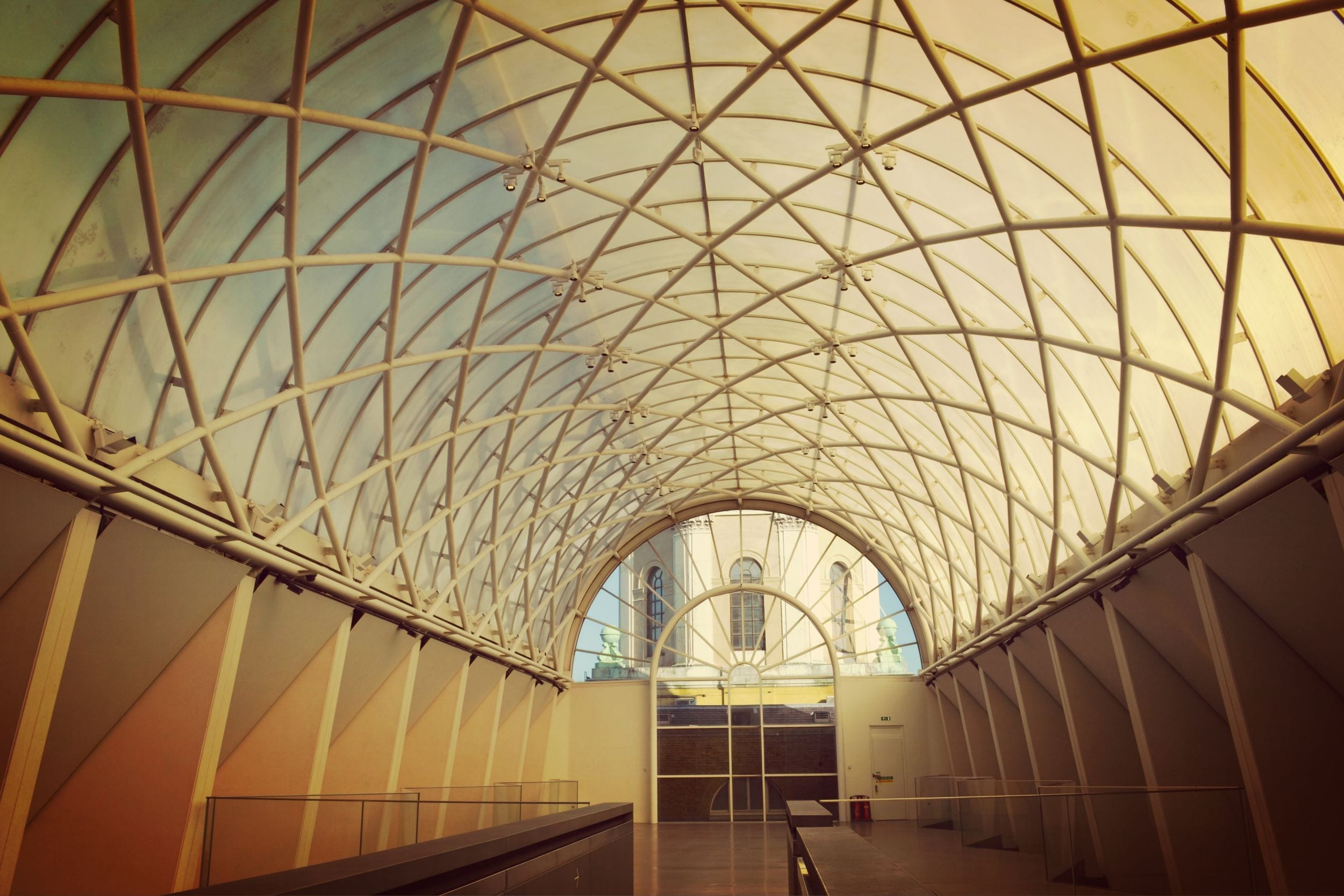 Das einzigartige und geniale Dach des Museums
