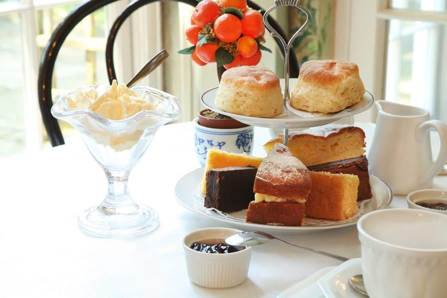 So eine leckere Tea-Time kostet nur 7 Pfund für Museumsbesucher