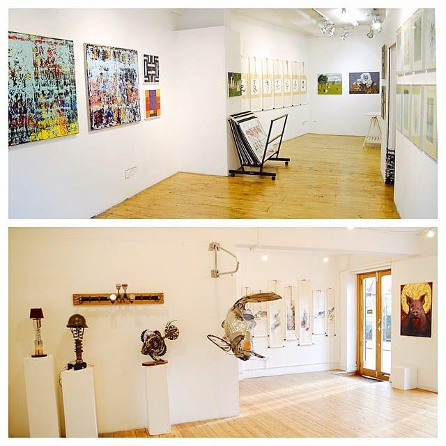 Atmosphäre Brick Lane Gallery