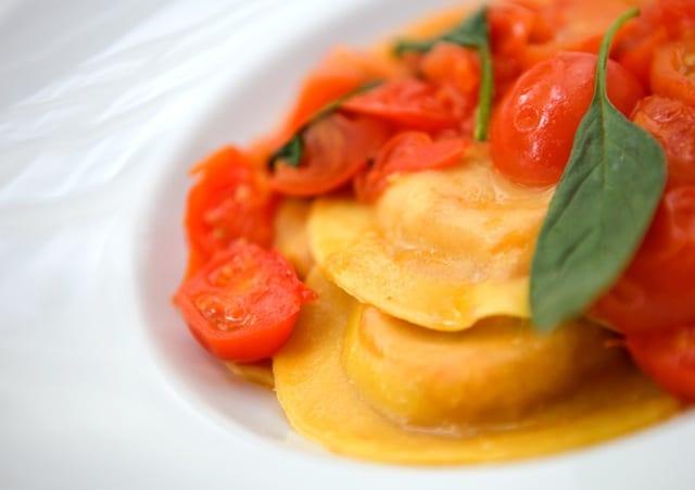 Leckere Gerichte nach italienischer Art