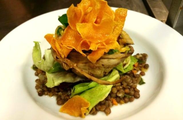 Großartige vegetarische Küche im Amico Bio