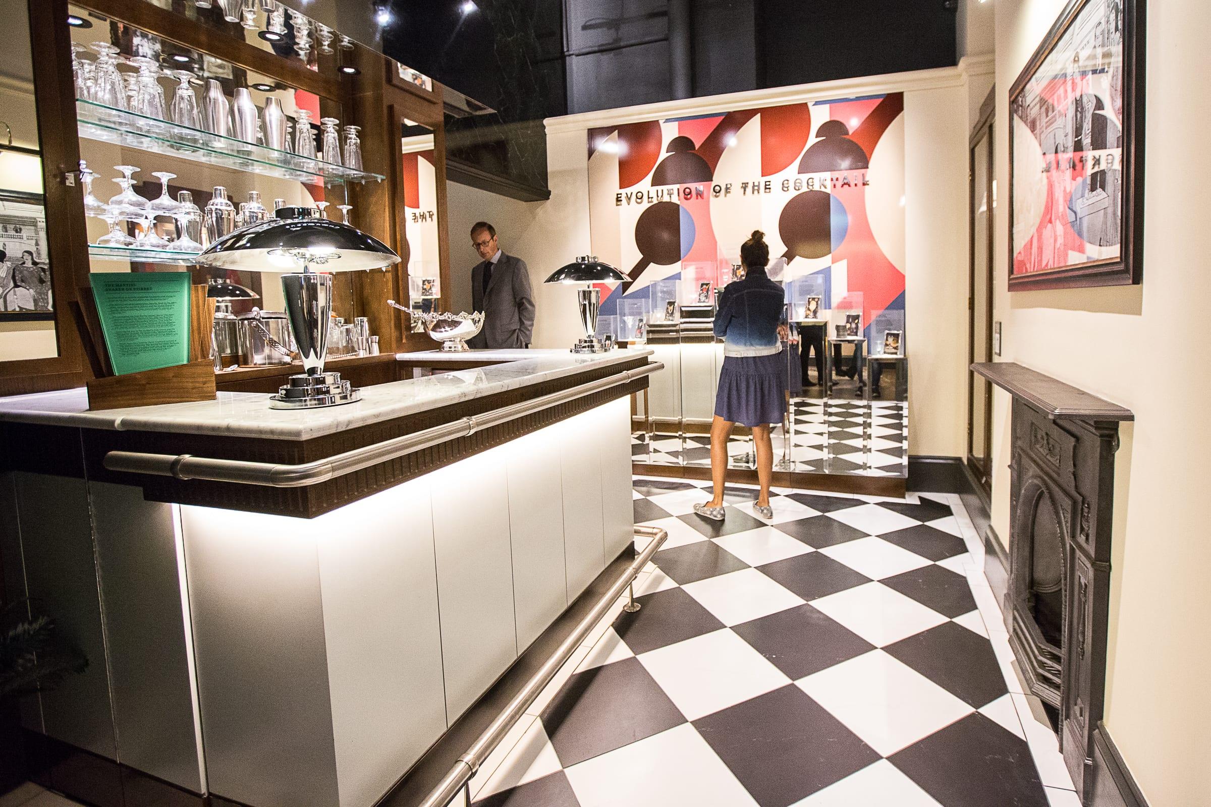 Die stylische Burrough's Bar. Foto: Beefeater