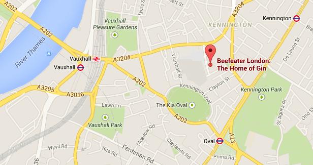 Hier findest Du Beefeater. Quelle: Google Maps