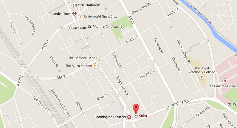 Hier findest Du das KOKO -  Quelle: Google Maps