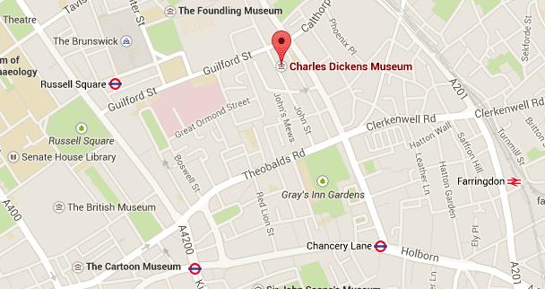 Hier findest Du das Museum, Quelle: Google Maps
