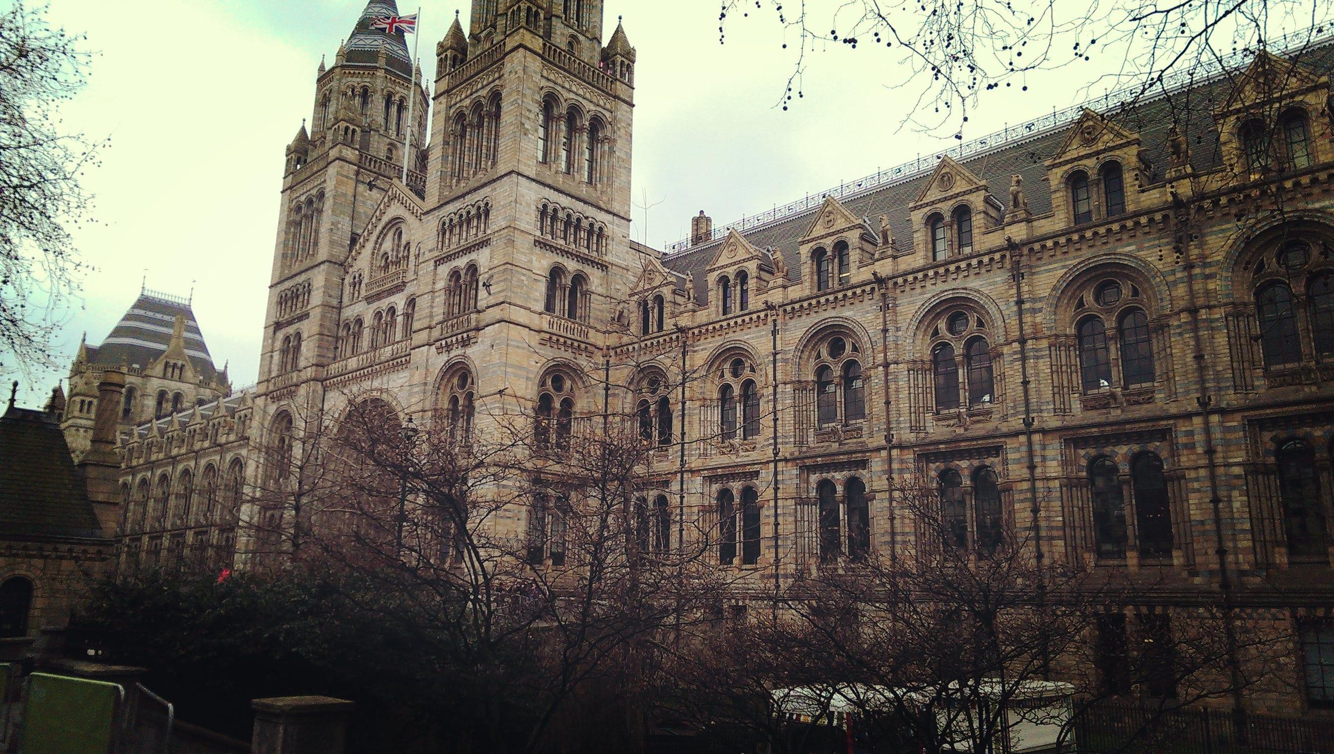 Das beeindruckende Gebäude von außen