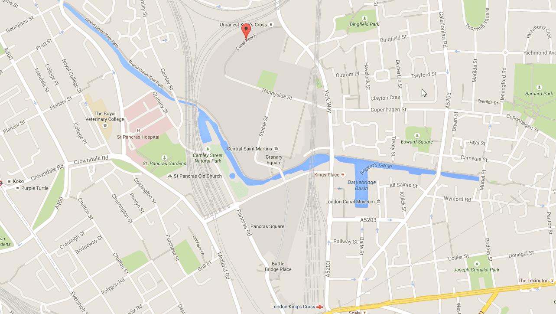 Quelle: Google Maps.