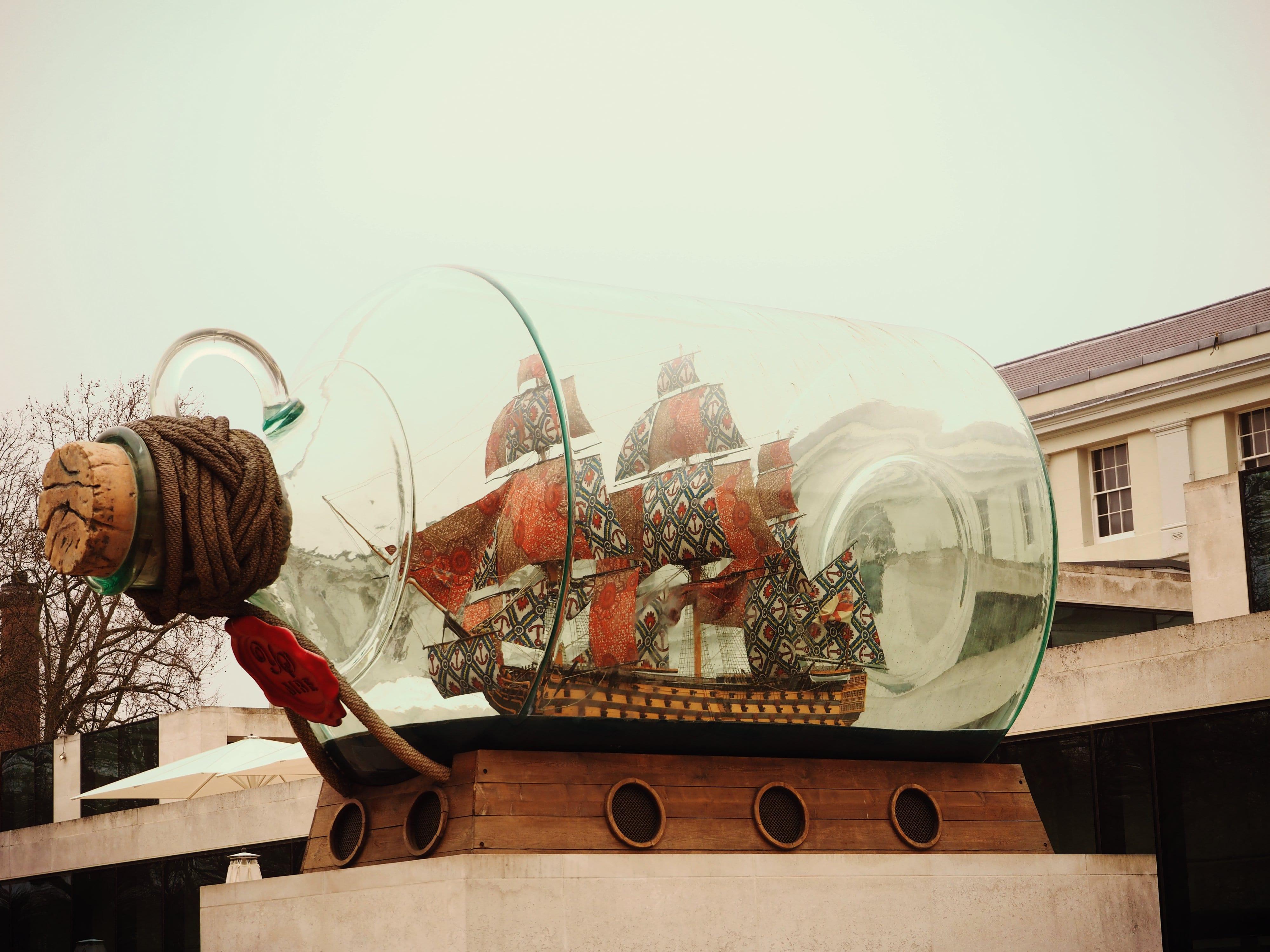 Das berühmte Buddelschiff