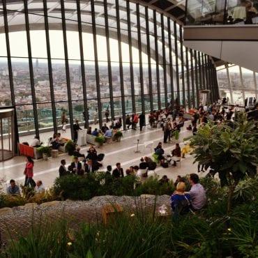 SkyGarden – ein Garten im Himmel von London