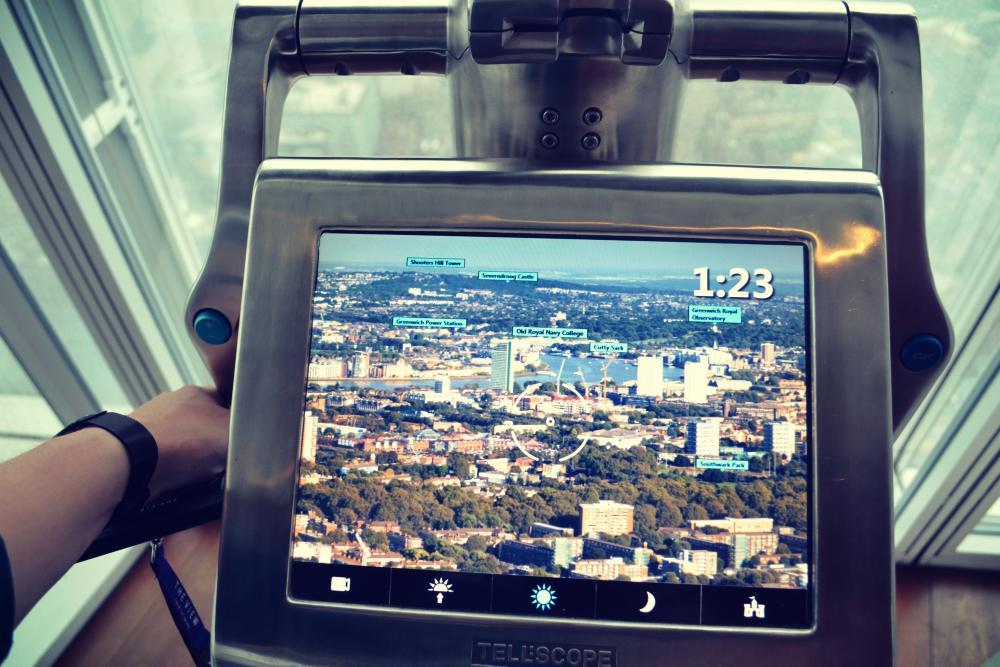 Der Fernglas-Simulator ist extrem informativ und leicht zu bedienen.