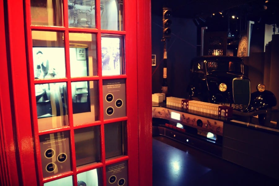 museum-of-london-telefonzelle