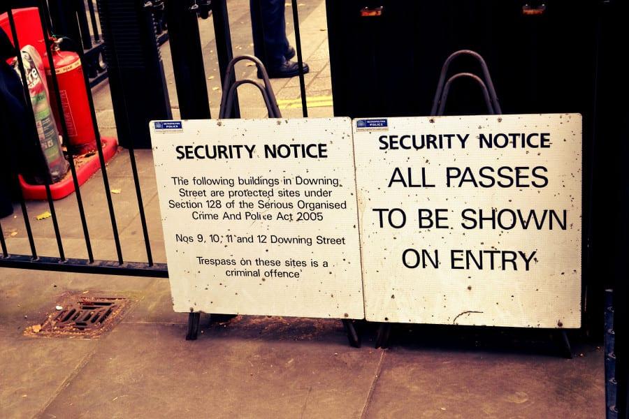 Hier steht Sicherheit an erster Stelle!