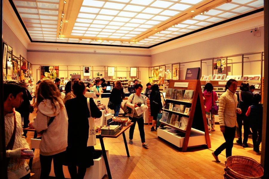 Auch einen Shop bietet die National Gallery