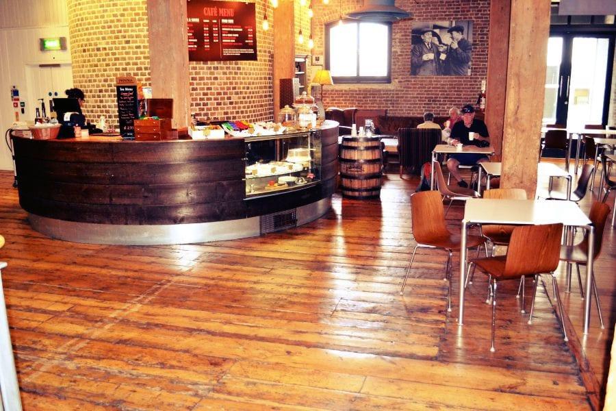 Das Museum verfügt auch über ein kleines Café