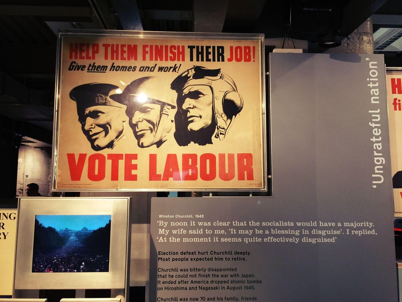 """""""Vote Labour"""""""