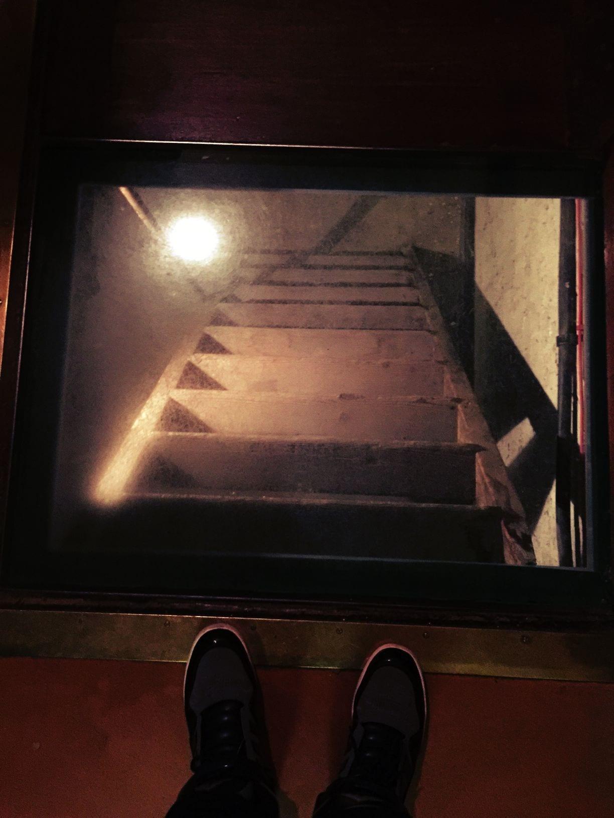 Eine Etage tiefer...