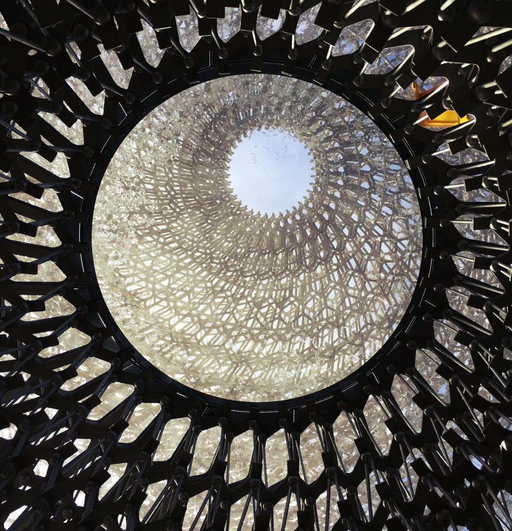 The Hive - so könnte das Innere eines Bienenstocks aussehen