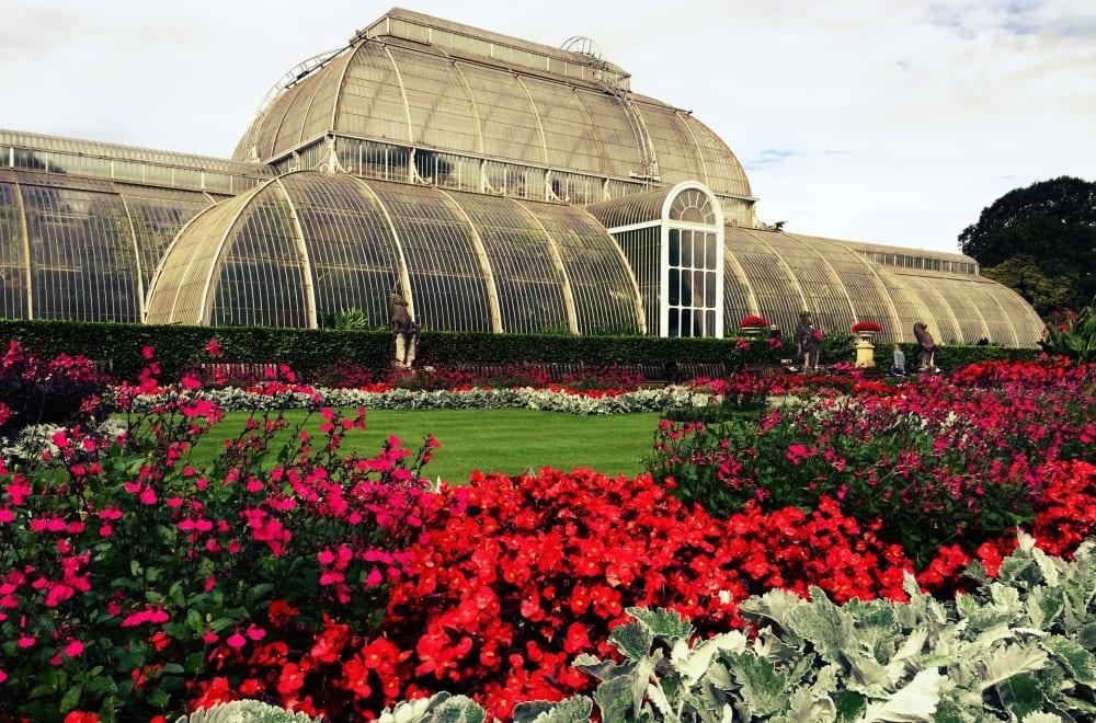 Das Palm House in den Kew Gardens