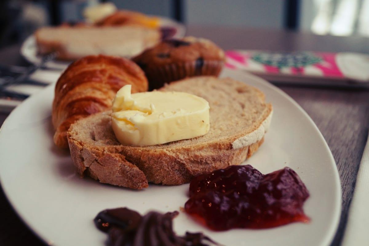 Das Frühstück hier