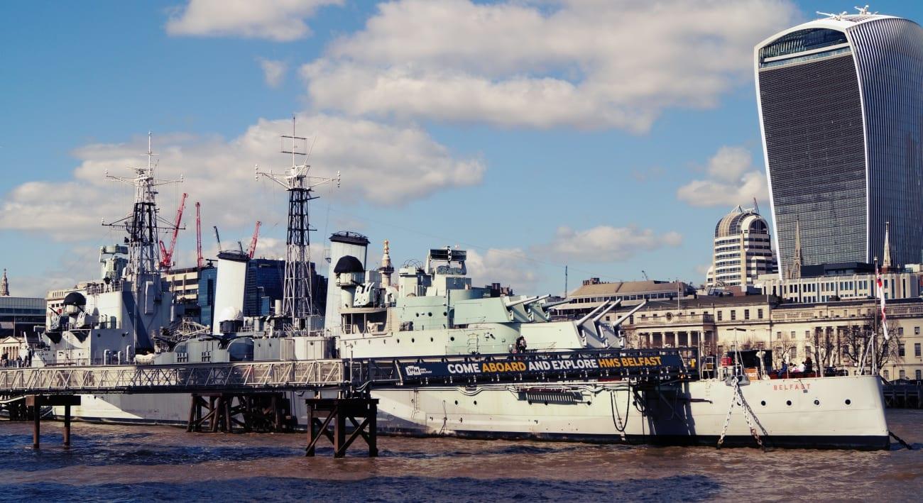 Die HMS Belfast