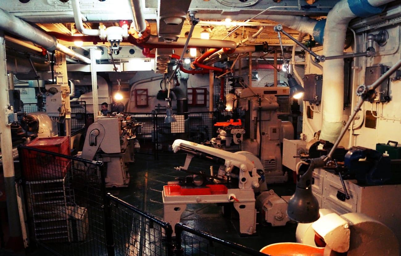 Ein weiterer Maschinenraum
