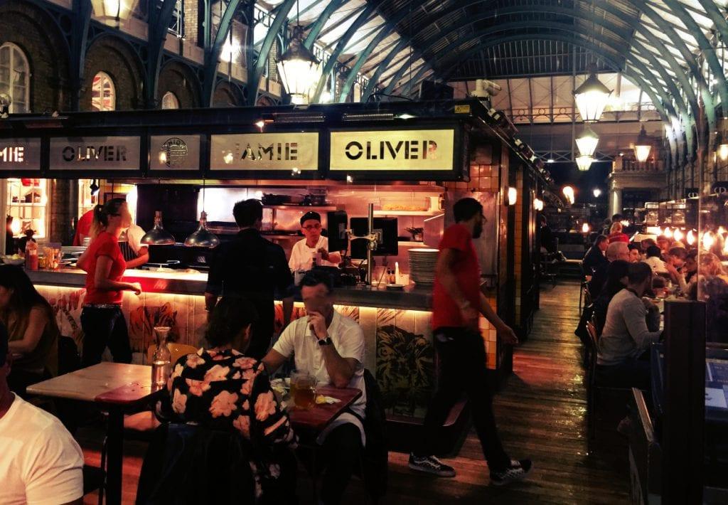 jamie oliver 39 s union jacks restaurant im covent garden market londonblo. Black Bedroom Furniture Sets. Home Design Ideas