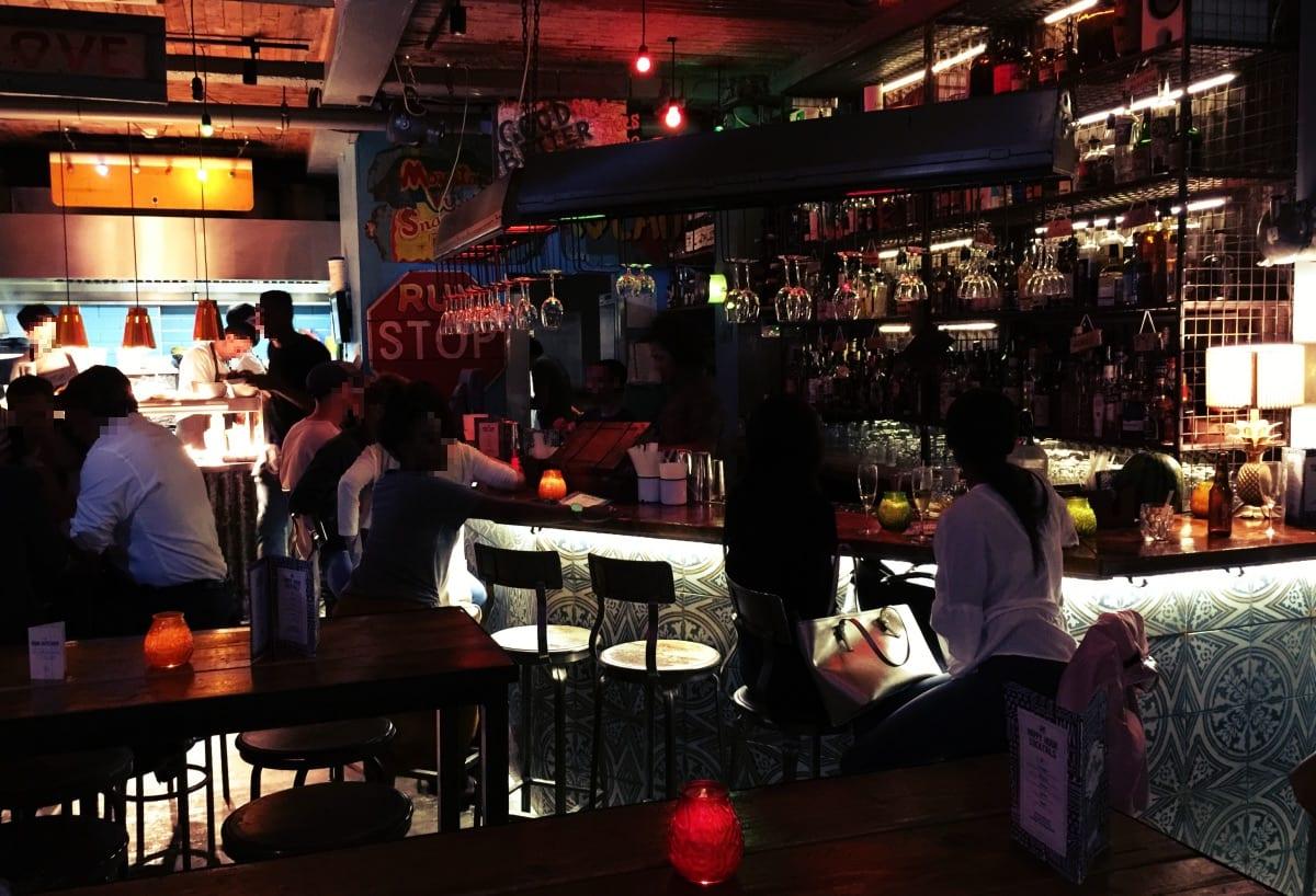 Tolles Ambiente: die Bar der Rum Kitchen