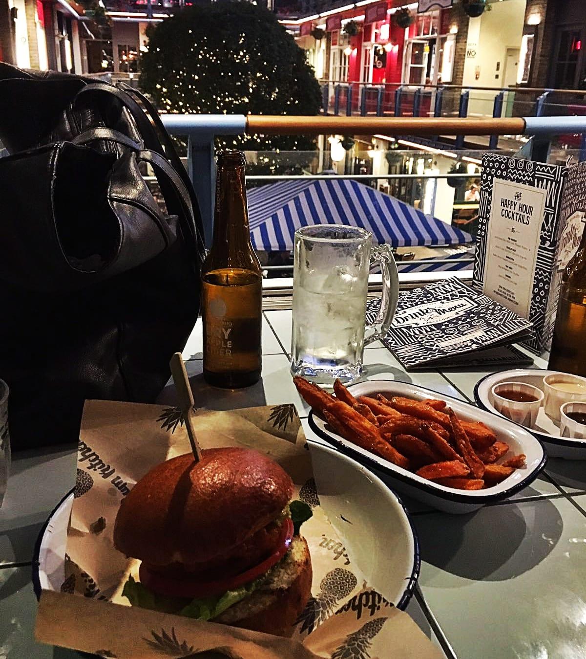 Der Halloumi Burger