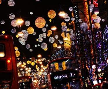 Die Weihnachtsmärkte und Weihnachtsbeleuchtung Londons